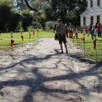 Eagle Scout brick walkway project complete!
